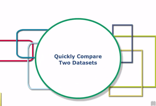 Excel Tip – Quickly Compare Two Datasets