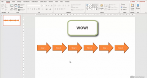CTRL + D creates Duplicates across the slide