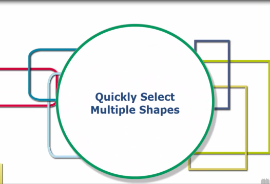 PowerPoint Tip – Quickly Select Multiple Shapes