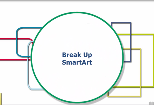 PowerPoint Tip – Break Up SmartArt