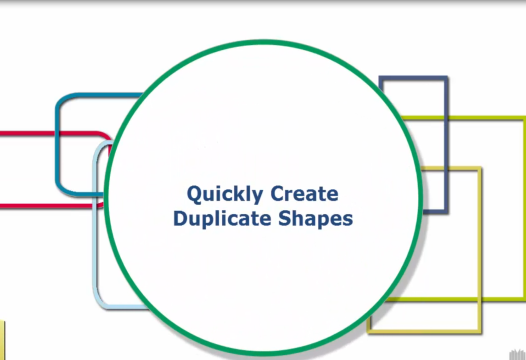 PowerPoint Tip – Quickly Create Duplicate Shapes